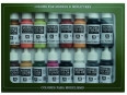 Vallejo Model Color 16 color Set 70107 German Colors WWII (16)