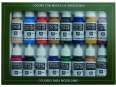 Vallejo Model Color 16 color Set 70110 Napoleonic Colors (16)