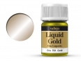 Barva Vallejo Liquid Gold 70791 Gold (Alcohol Based) (35ml)