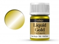 Barva Vallejo Liquid Gold 70792 Old Gold (Alcohol Based) (35ml)
