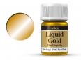 Barva Vallejo Liquid Gold 70794 Red Gold (Alcohol Based) (35ml)