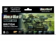 Vallejo Model Color WWIII 70222 British Armour & Infantry (8)