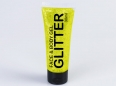 UV Glitter Gel Tube yellow 30 ml