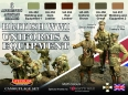 Set kamuflážních barev LifeColor CS45 British WWI Uniforms & Equipment