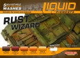 Set tekutých pigmentů LifeColor LIQUID LIGMENTS LP02 RUST WIZARD