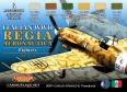 Set kamuflážních barev LifeColor CS19 REGIA AERONAUTICA WWII SET1 FIGHTERS