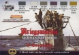 Set kamuflážních barev LifeColor CS12 GERMAN NAVY WWII SET2 Kriegsmarine u-Bootwaffe