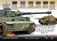 Set kamuflážních barev LifeColor CS03 GERMAN WWII TANKS SET2