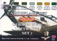 Set kamuflážních barev LifeColor CS06 GERMAN WWII LUFTWAFFE SET1