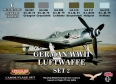 Set kamuflážních barev LifeColor CS07 GERMAN WWII LUFTWAFFE SET2