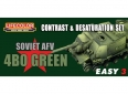 Set kamuflážních barev LifeColor MS04 SOVIET AFV 4B0 GREEN