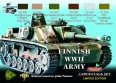 Set kamuflážních barev LifeColor XS08 FINNISH WWII ARMY