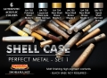 Set kamuflážních barev LifeColor CS47 SHELL CASE Perfect Metal - SET1