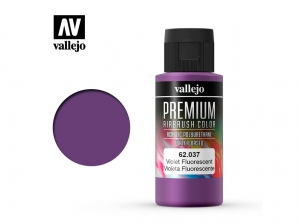 Barva Vallejo PREMIUM Color 62037 Fluorescent Violet (60ml)