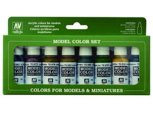 Vallejo Model Color 8 colors Set 70108 Panzer Colors (8)