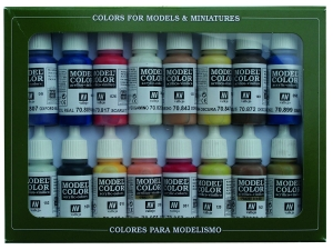 Vallejo Model Color 16 color Set 70147 American Colonial (16)