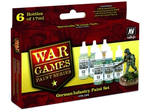 Vallejo Model Color Wargame Set 70154 German Infantry (6)