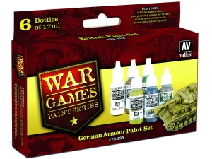 Vallejo Model Color Wargame Set 70155 German Armour (6)