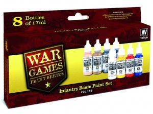Vallejo Model Color Wargame Set 70156 Infantry Basic (8)