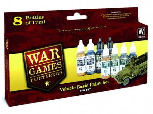 Vallejo Model Color Wargame Set 70157 Vehicle Basic (8)