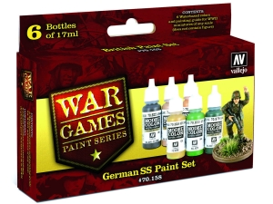 Vallejo Model Color Wargame Set 70158 German SS (6)