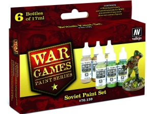 Vallejo Model Color Wargame Set 70159 Soviet (6)