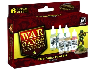Vallejo Model Color Wargame Set 70160 US (6)