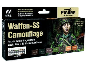 Vallejo Model Color Uniforms Set 70180 Waffen SS Camouflage (8) by Jaume Ortiz