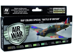 Vallejo Model Air RAF Set 71144 Special Battle of Britain (8)