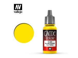 Barva Vallejo Game Color 72006 Sun Yellow (17ml)