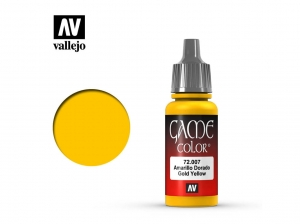 Barva Vallejo Game Color 72007 Gold Yellow (17ml)