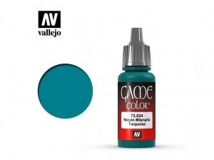 Barva Vallejo Game Color 72024 Turquoise (17ml)