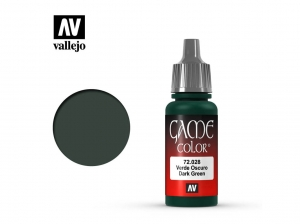 Barva Vallejo Game Color 72028 Dark Green (17ml)