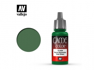 Barva Vallejo Game Color 72029 Sick Green (17ml)