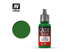 Barva Vallejo Game Color 72030 Goblin Green (17ml)