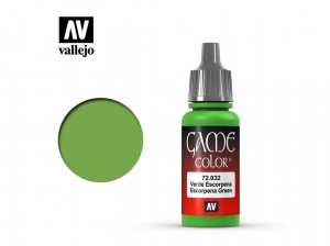 Barva Vallejo Game Color 72032 Escorpena Green (17ml)