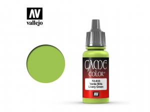 Barva Vallejo Game Color 72033 Livery Green (17ml)