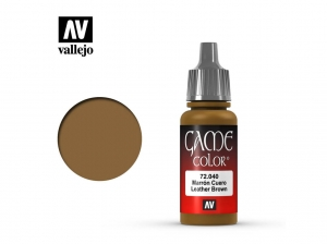 Barva Vallejo Game Color 72040 Leather Brown (17ml)