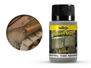 Vallejo Weathering Effects 73803 Industrial Spalsh Mud (40ml)