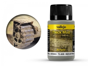 Vallejo Weathering Effects 73809 Industrial Thick Mud (40ml)