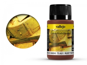 Vallejo Weathering Effects 73821 Rust Texture (40ml)