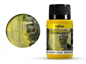 Vallejo Weathering Effects 73827 Moss and Lichen Effect (40ml)