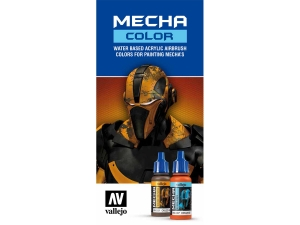 Vallejo CC064 Color Chart: Mecha Color