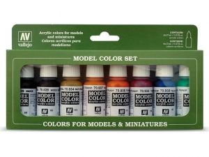 Vallejo Model Color 8 colors Set 70136 Transparent Colors (8)