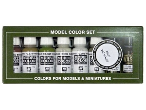 Vallejo Model Color 8 colors Set 70137 Building Set (8)