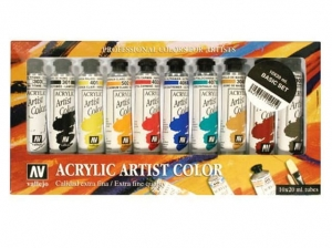 Vallejo Acrylic Artist 15001 Basic Set (10x20ml)