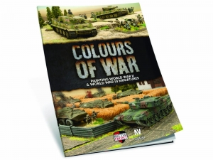 Vallejo 75013 Book: Colours of War - Painting WWII & WWIII miniatures