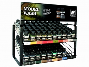 Vallejo EX712 Model Wash - Complete Range