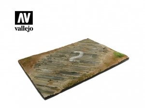 Vallejo Scenics SC102 Wooden Airfield surface (31x21 cm)