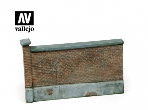 Vallejo Scenics SC005 Old Brick Wall 15x10 cm